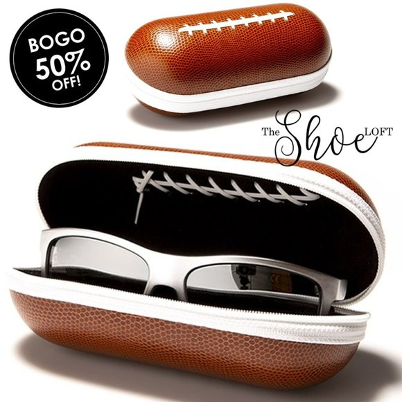 The Shoe Loft Other - Football Sunglasses Case with Zip Closure